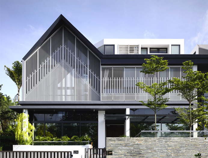 Semi-Detached House in Singapore - #architecture, #house, #home, home, architecture
