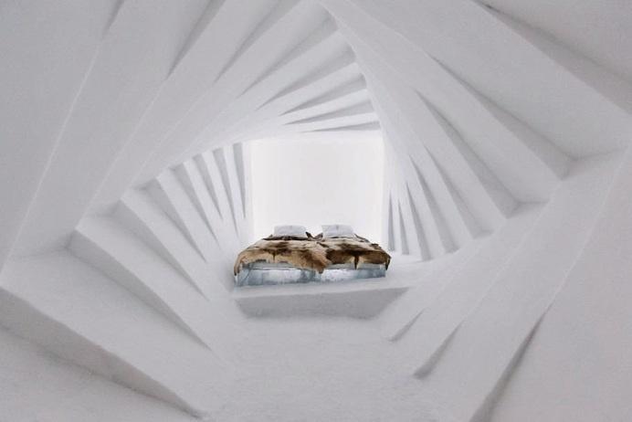 Ice Hotel in Jukkasjärvi #interior #ideas #design
