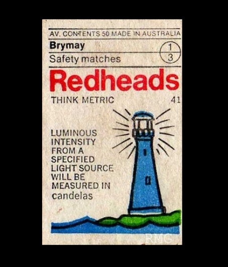 Item 193: Redheads Think Metric set / unknown designer / 1970s « Recollection #australian #design #redheads