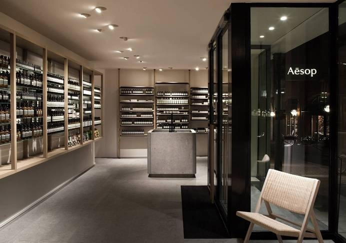 Aesop Hamburg by Vincent Van Duysen #interior #minimalist #store #aesop