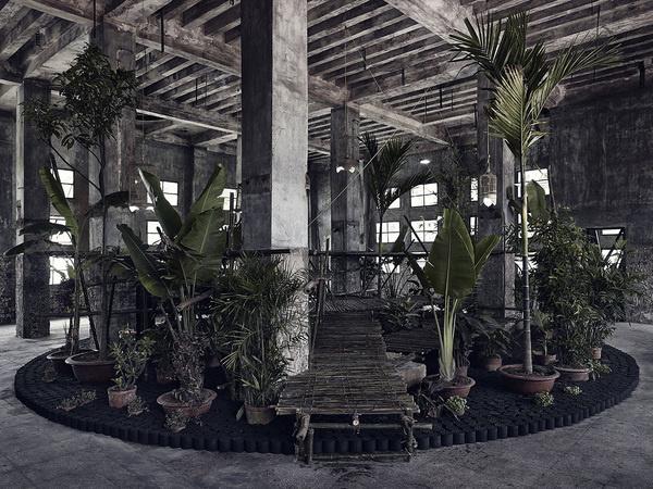 """CJWHO ™ (""""Vu'òn The Garden"""" by Bureau A """"Vu'òn The...) #installation #design #interiors #architecture #art #garden"""