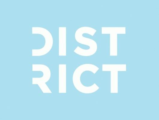 Happy District - Brand New #type #logo