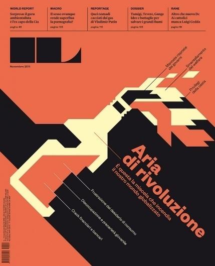 All sizes | IL 35 prima versione | Flickr - Photo Sharing! #logo #cover #type #editorial #magazine