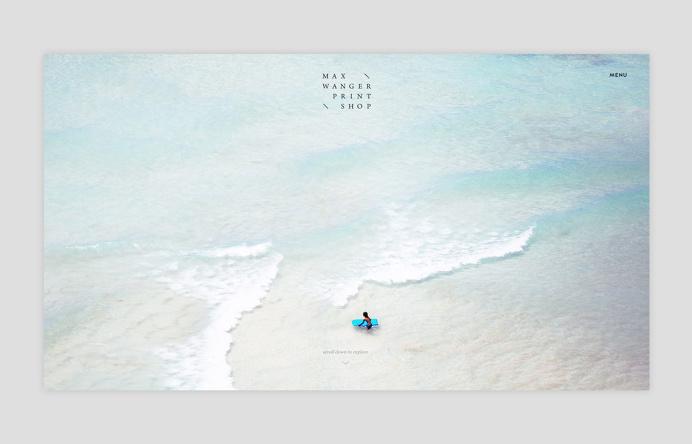 Studio Faculty—Max Wanger Print Shop Website Design