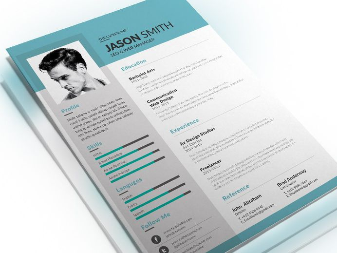 Free Resume Template for SEO Specialist