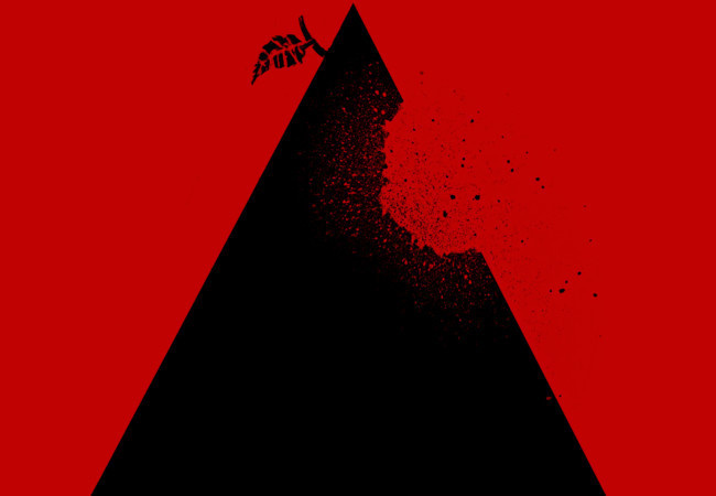 Apple pyramid #apple #design #triangle #art #pyramid