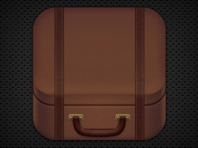 Dribbble - Suitcase by Isaac Grant * #icon #app