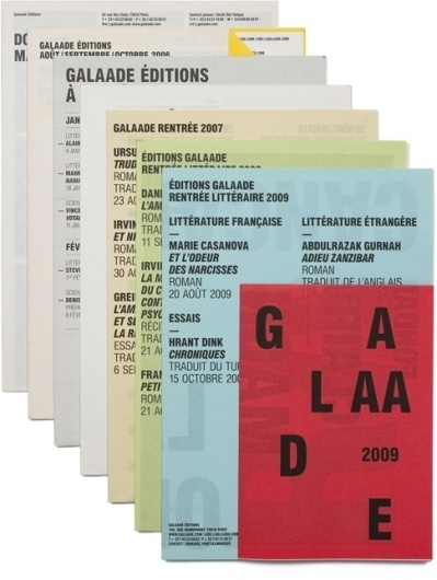 Sundries | Projet - Galaade Éditions #typography