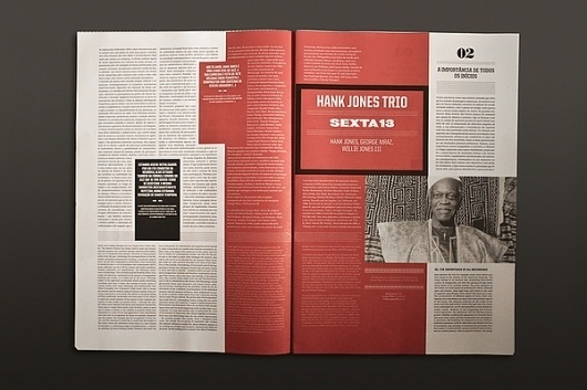 The Jazz 09 Journal on the Behance Network #design #editorial #typography