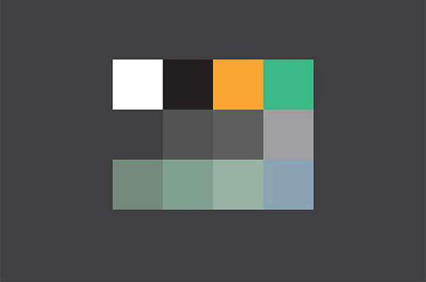 The program's palette is inspired by the colors of the city. #ny #palette #wayfinding #identity #pentagram