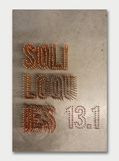 Studio Atelier – Soliloquies Anthology 13.1 / Aqua-Velvet #creative #design #book #cover #typography