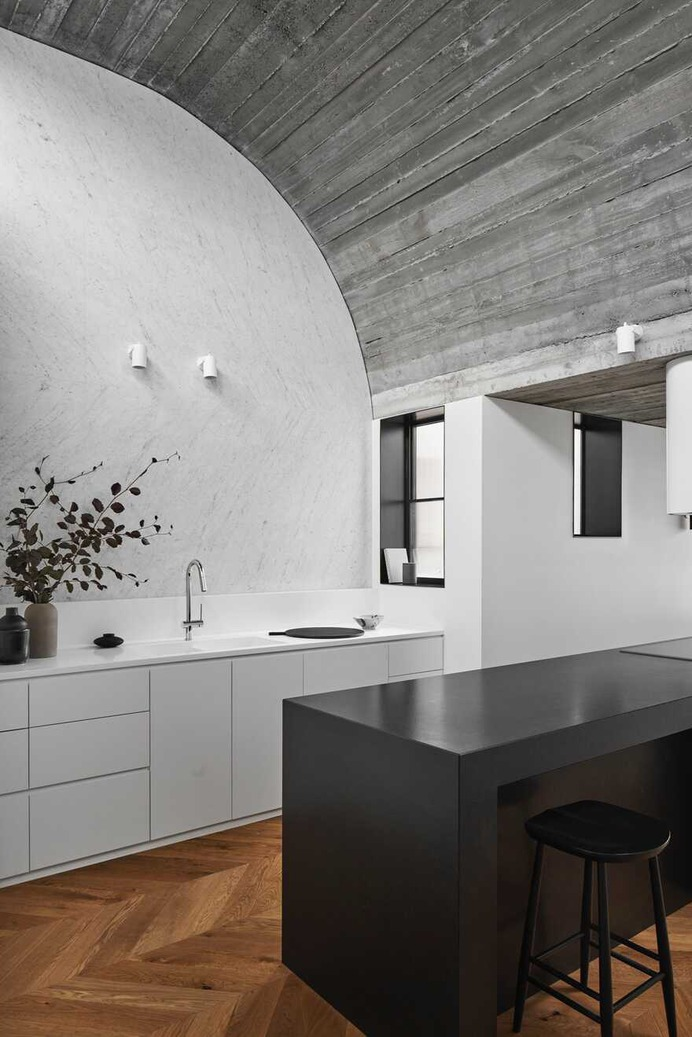 kitchen, Residential Alteration and Addition by Taylor Knights