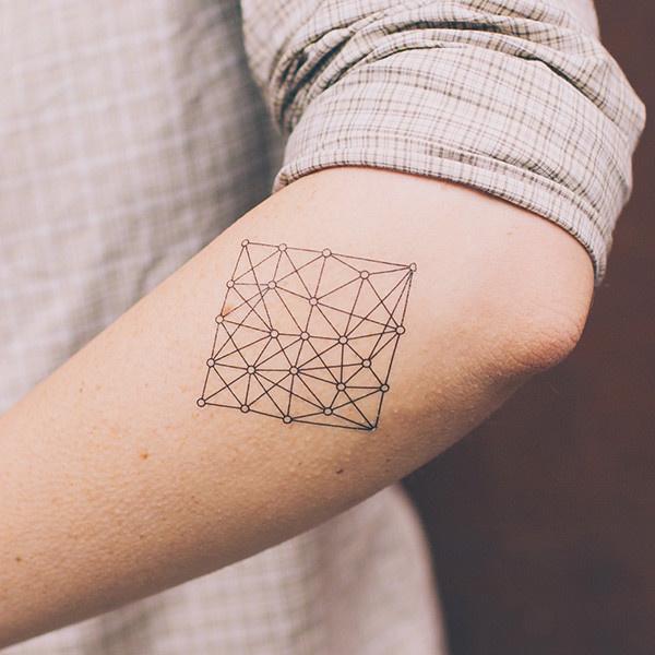 Tattly™ Designy Temporary Tattoos. — Nodes