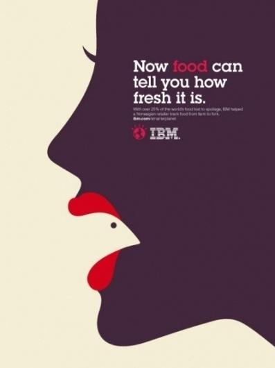 IBM: Smarter Planet, Lips | Ads of the World™ #inspiration #design #illustration #barr #noma