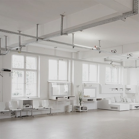 Alexander Gnädinger studio space at iainclaridge.net