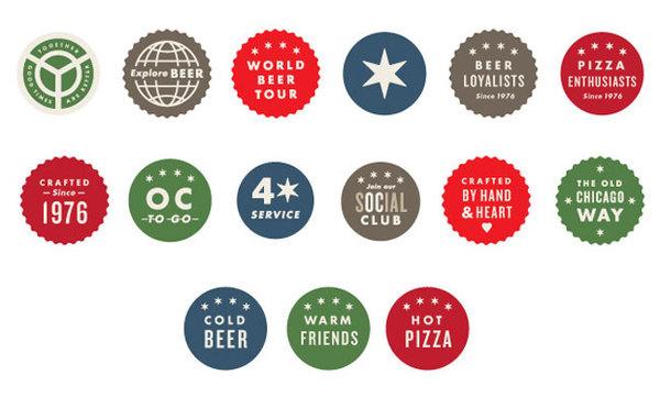 Old Chicago brand identity #design #graphic #identity