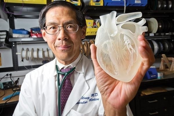 Next stage for 3D printing: custom sized and shaped 3D heart implants. #design #product design #industrial design #technology