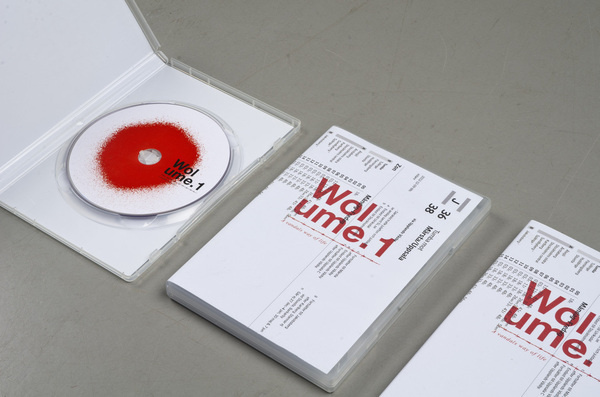 Wolume 1 #wwwsimonjkcom #red #dvd #packaging #graffiti #jung #krestesen #cover #simon