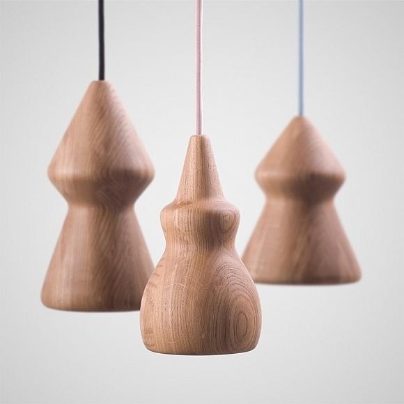 NOJAR Wood Pendant Lamp by Enrico Zanolla #lamp #design #pendant #wood #lighting