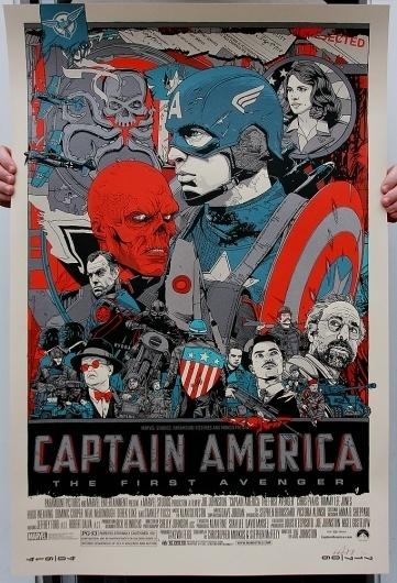 captain_regular_ph.jpg 682×1.000 pixels #design #captain #illustration #poster #america #typography