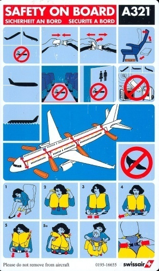swissair_a321_1.jpg (JPEG Image, 800x1355 pixels) #airplane #infographics #swissair #safety #manual