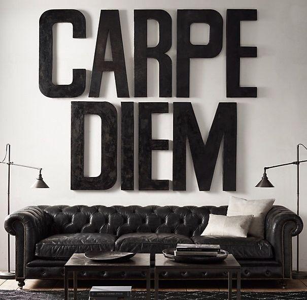 Carpe Diem #inspiration #design #typography