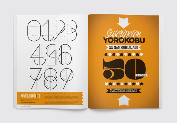 Numerografía – Yorokobu #graphic #number #design #typography