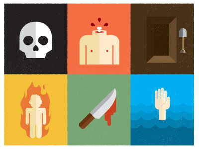 Todaycouldbe_worse #simple #illustration #color #death