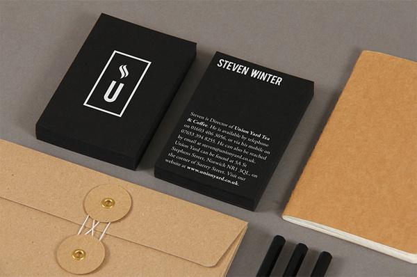 «Matthew Hancock — Union Yard» в потоке «Брендинг / Айдентика, Канцелярия, Упаковка» — ПР#cafe #card #stationery