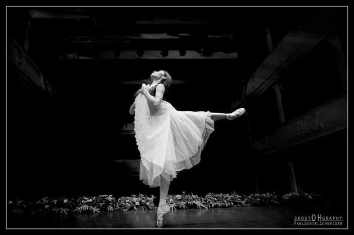 Elegance of Ballerinas Dancing in The Streets by Paul Daniel Schneider