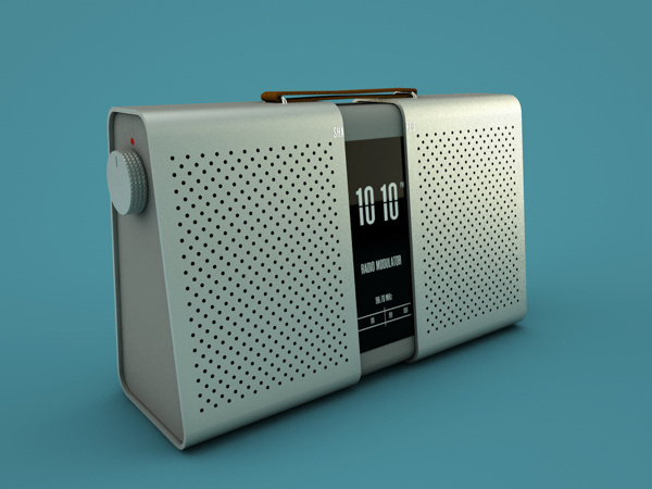 SHA_RED Wireless Speaker on Behance #speaker