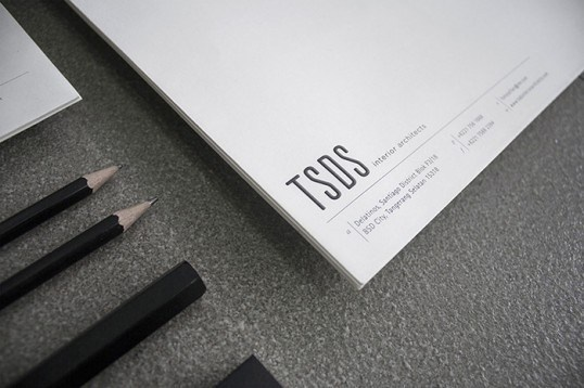 TSDS #lines #business #branding #card #print #design #letterpress #stationery #black #on #brand #identity #rules #tone #personal #foil #typography