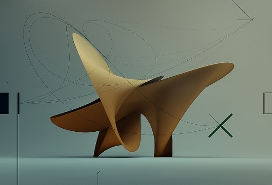 OSX Cover - 2009 - semafore #form #sculpture #flow #line #global #light #smooth #illumination