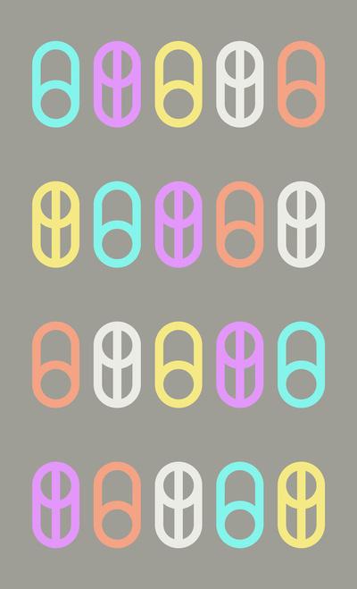 Zero + O print. #fonts #prints #design #art #type #typography