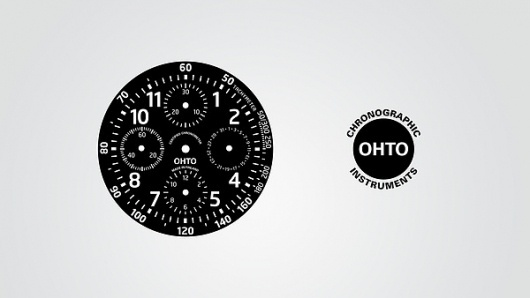OHTO CHRONO on ID Magazine Served #clock #design #watch
