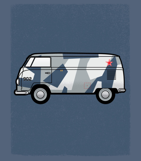 personal, illustration, vw, van, bus, fighter, camouflage
