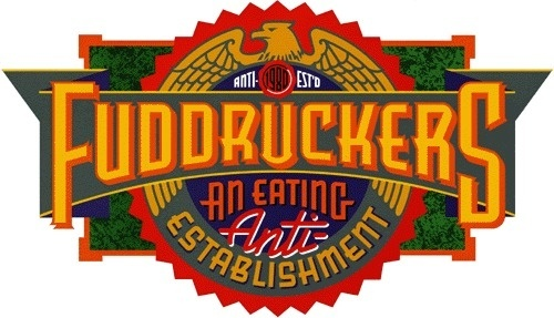 FUDDRUCKERS LOGO #logo #fuddruckers #doret #michael