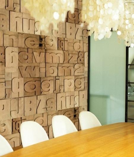 letterpress wallpaper | the style files #wallpaper #letterpress #typography