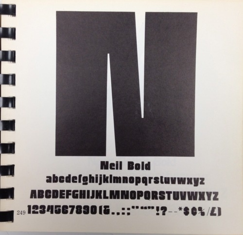 """Daily Type Specimen 