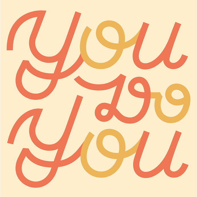 You Do You #type #typography #lettering #script #monoweight #cursive #design #graphicdesign #typedesign