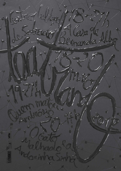 Typeverything.com -Â Teatrando 2012 by Sergio Alves. #mixed #type #media