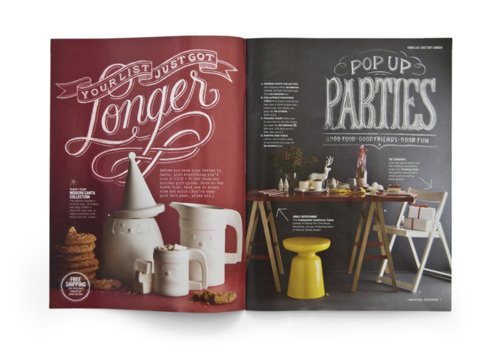 Magazine spread #editorial #magazine #typography