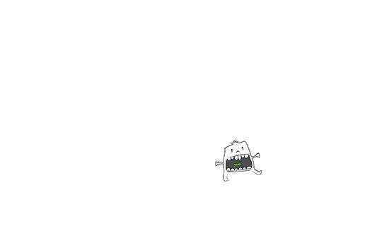 """Nah!"" by Molly Yllom #illustration #character #design"