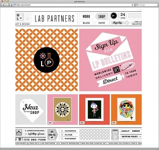 Eight Hour Day » Blog » The Best Thing I Saw Today • February 28, 2012 #website #illustration