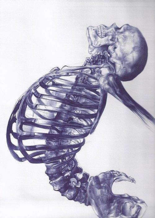 Ballpoint pen drawing by Andrea Schillaci #point #ballpoint #pen #ball