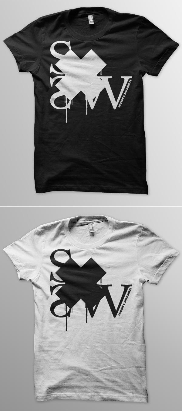 VsSXSW #f&a #tshirt #sxsw #t-shirt #bw