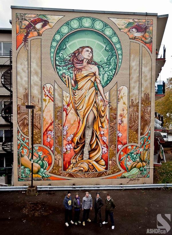 15 Massive Street Art Murals Around the World My Modern Metropolis #canada