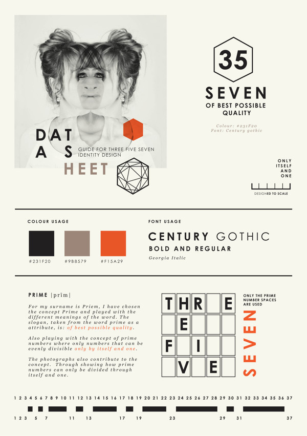 Self promotion { Graphic Designer } on Behance #identity