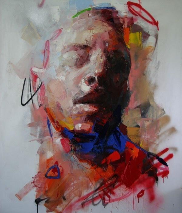 Ryan Hewett   PICDIT #design #portrait #painting #art #artist