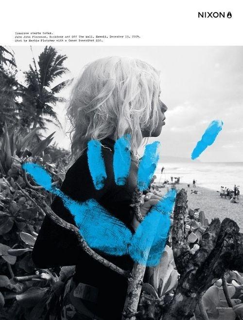 sara lindholm:Advertisment, JJ Florence(via:Â grock et) #design #graphic
